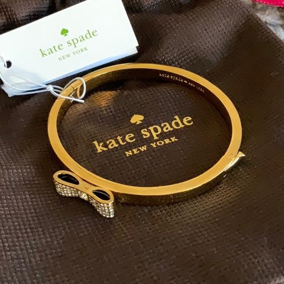 Kate spade bow bangle